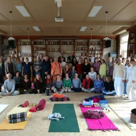 Verslag en foto van Weekend Retreat on Inner Silence and Mudras with Swami Tat Sat Bharati