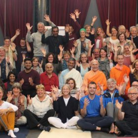 Silence Retreat september 2019 with Swami Ritavan Bharati.